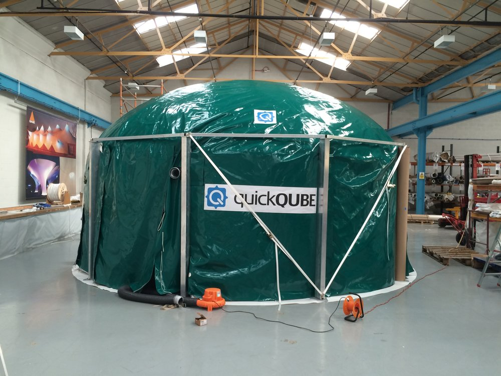 QUBE Renewables - About Us - 55m3 quickQUBE in manufacture.JPG