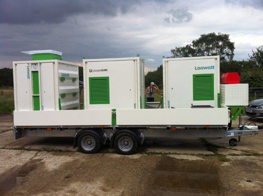 QUBE Renewables - powerQUBE - on trailor for Loowatt.jpg