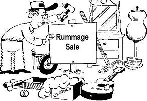Rummage Sale — Blooming Grove RCA