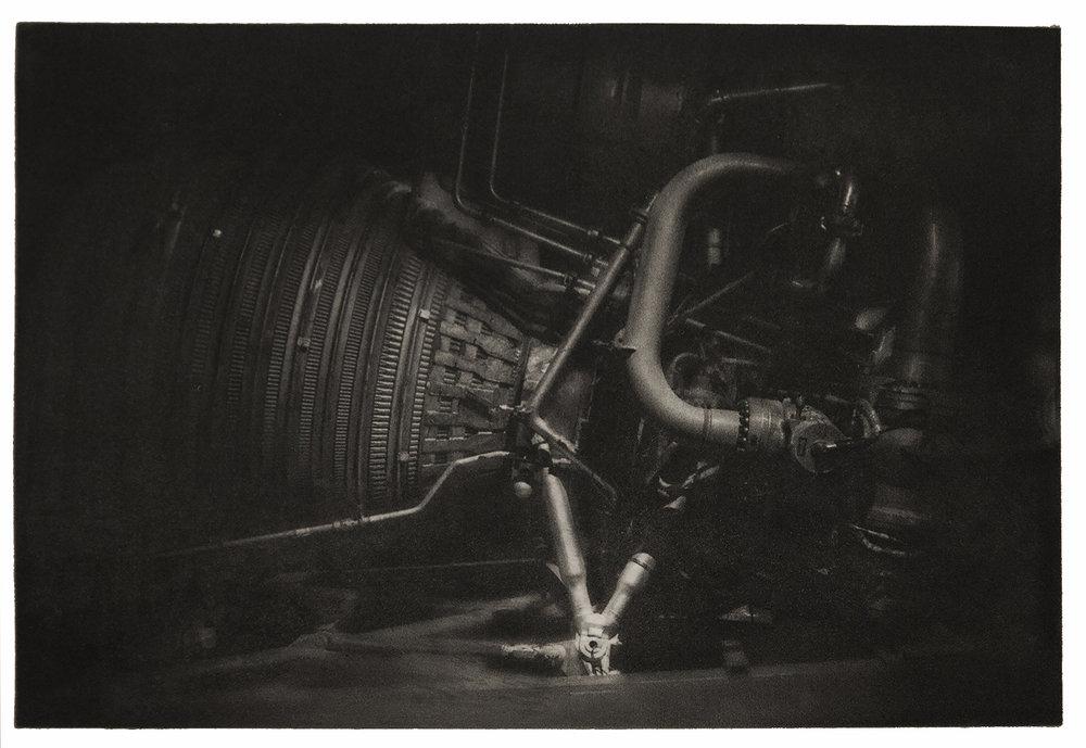 F-1 Rocket Engine Display