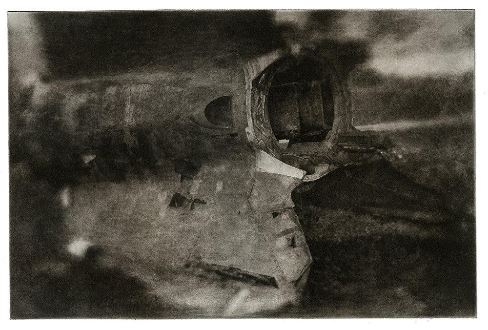 Crashed V-II Rocket Tail Section - Alamogordo