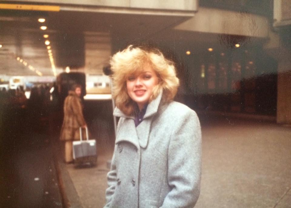 my mother in the 80s