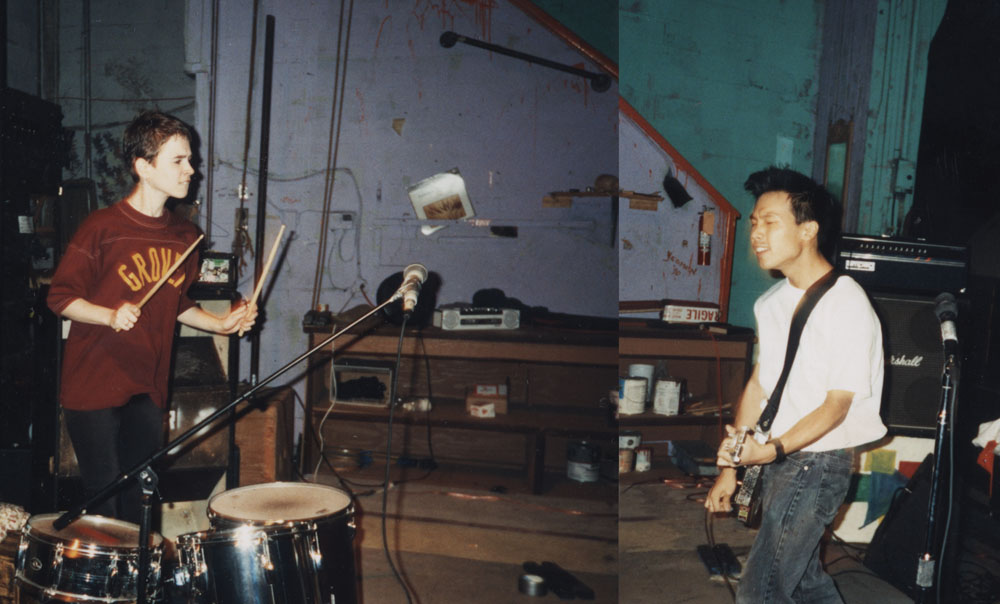 Kicking Giant's first show in Olympia in 1991