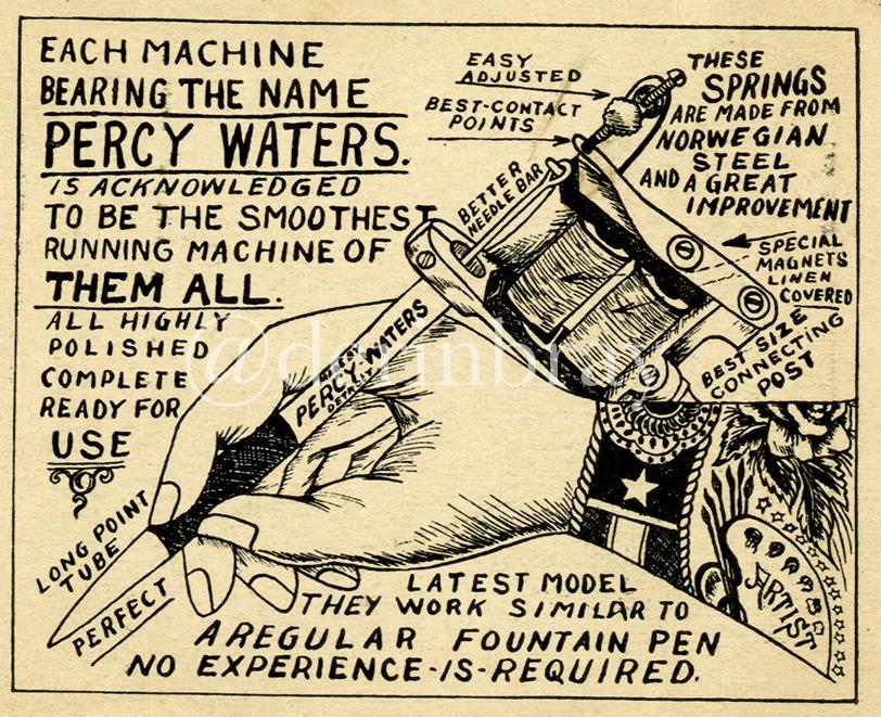 Percy Waters Trade Card, Detroit, MI, ca. 1925