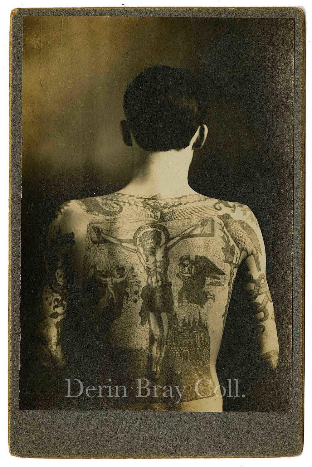 Joseph Bernard Harkin, aka Barney Kruntz, Cabinet Card by J. S. Johnson, Johnson's photo studio, 193 Wabash Ave., Chicago, IL, ca. 1905.  Derin Bray Collection