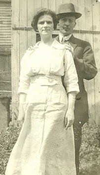 Joseph and Agnes Harkin.  Private Collection