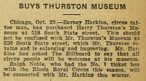 Billboard, October 29, 1921