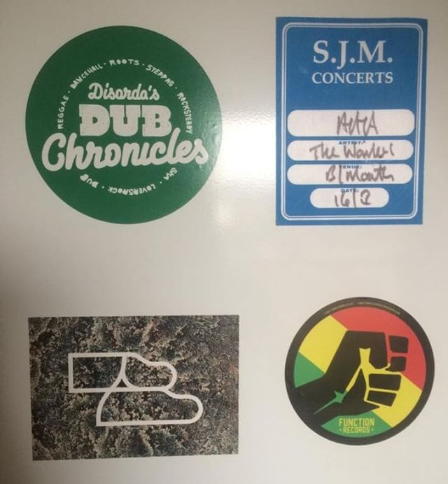 Latest sticker additions! #disordersdubchronicals #thewailers #functionrecords #occult