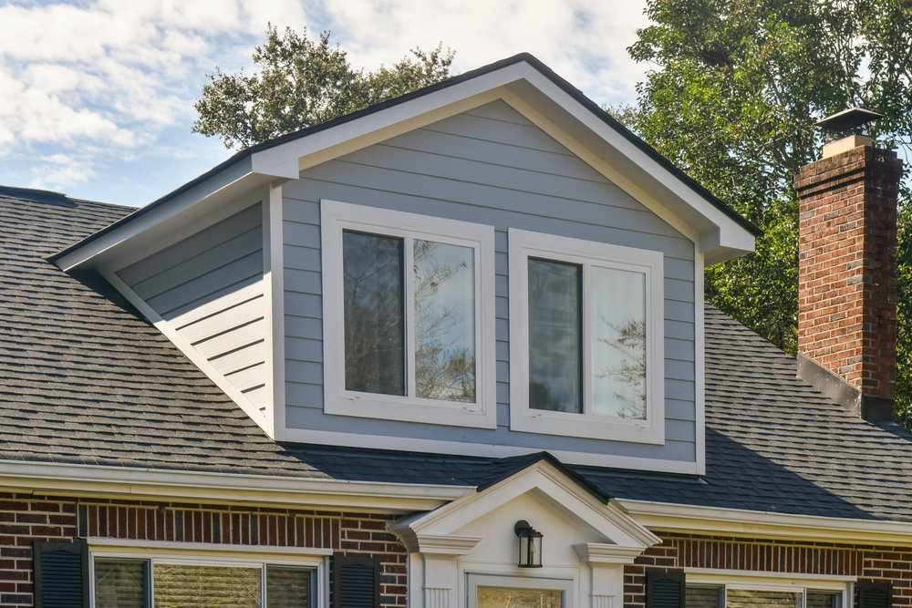 PROJECT : Dormers, West Ashley   DETAILS : Added dormers to extend the living space of new master suite