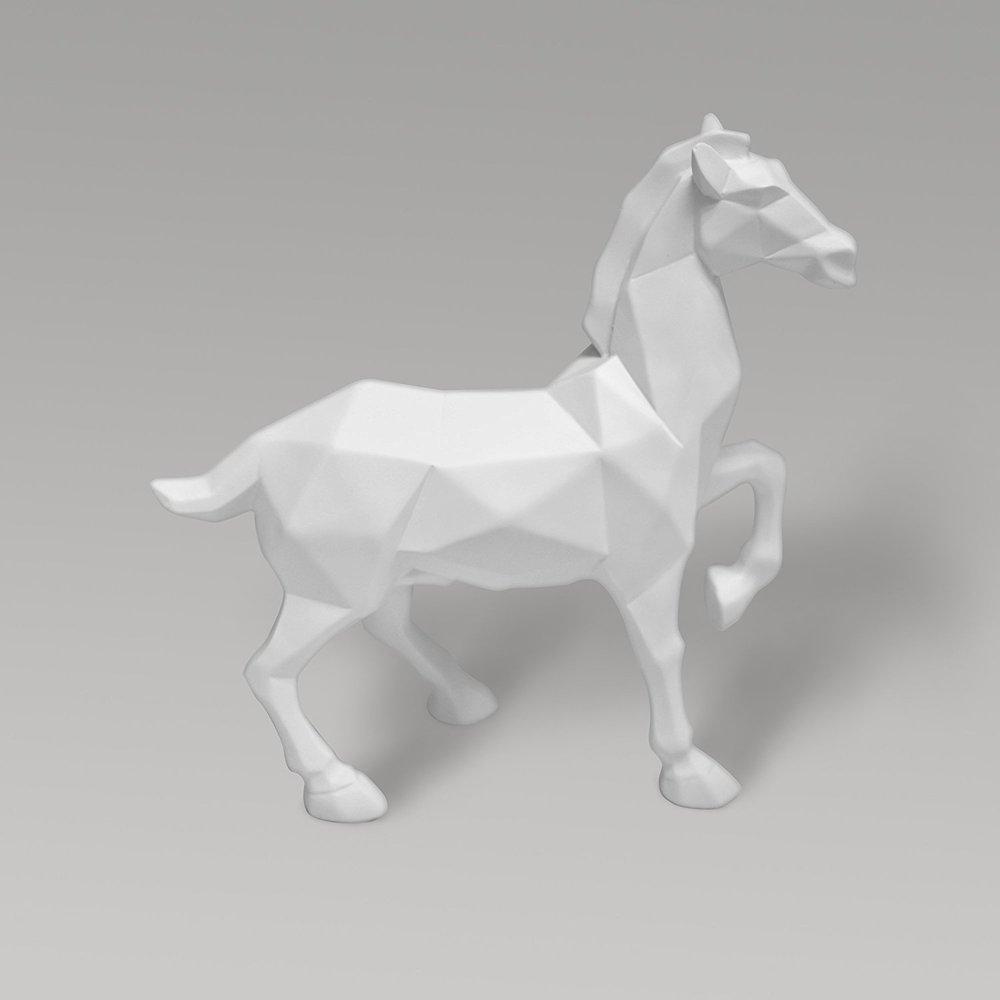 modern geometric horse statue.jpg