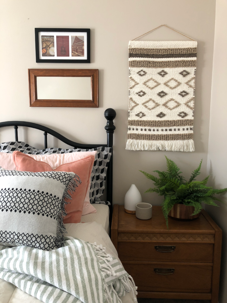 bedroom with modern bohemian accents.png