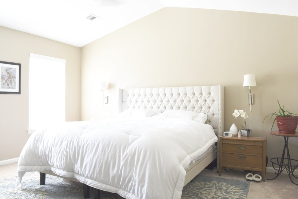 How To Decorate a Boring Suburban Bedroom | Step One - Choose Your Colors