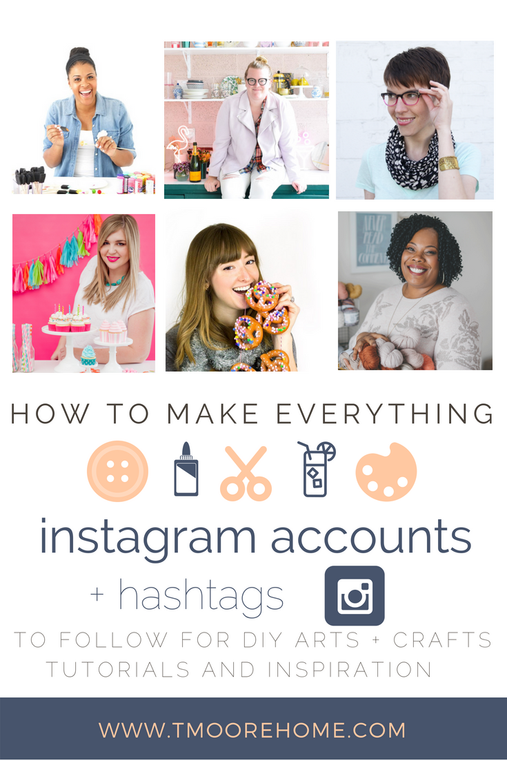 Instagram Accounts To Follow For Diy Arts Craft Inspiration T