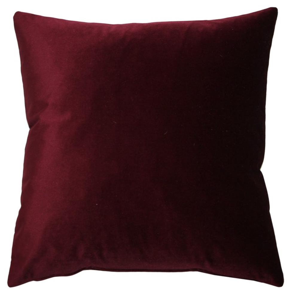 pottery barn style velvet pillow for less