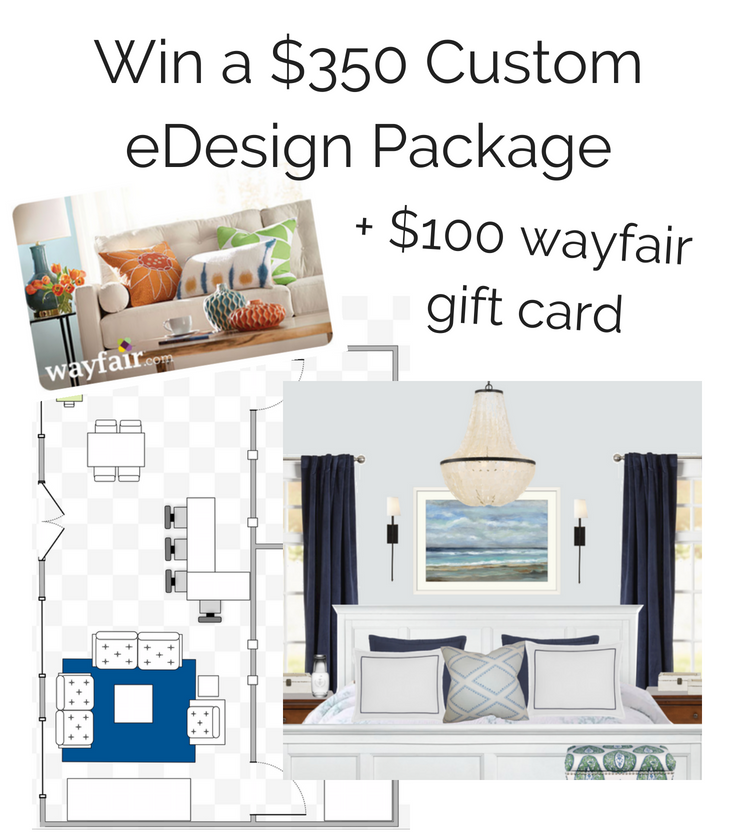 custom design package and gift card giveaway