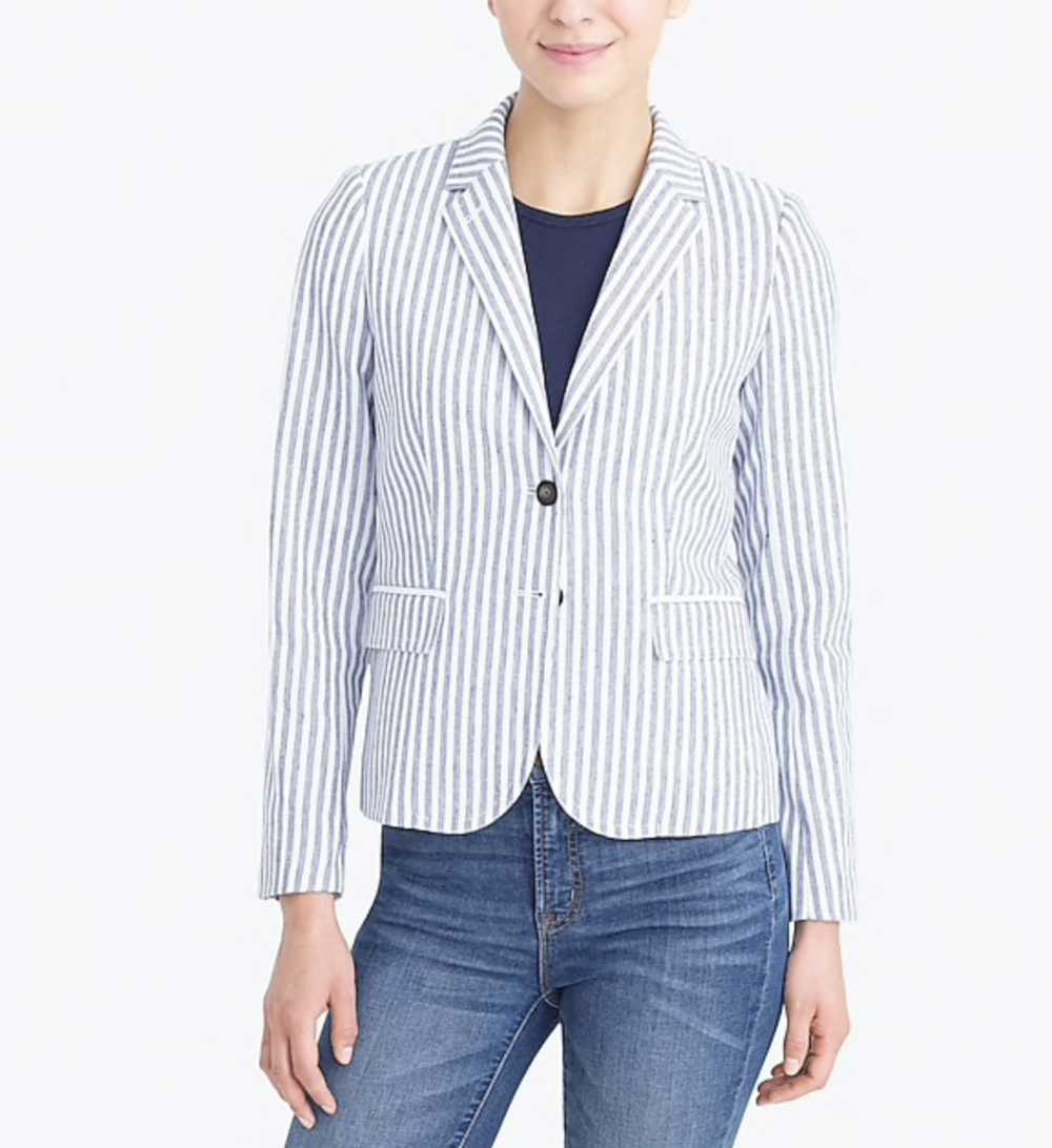 perfect blazer for fall