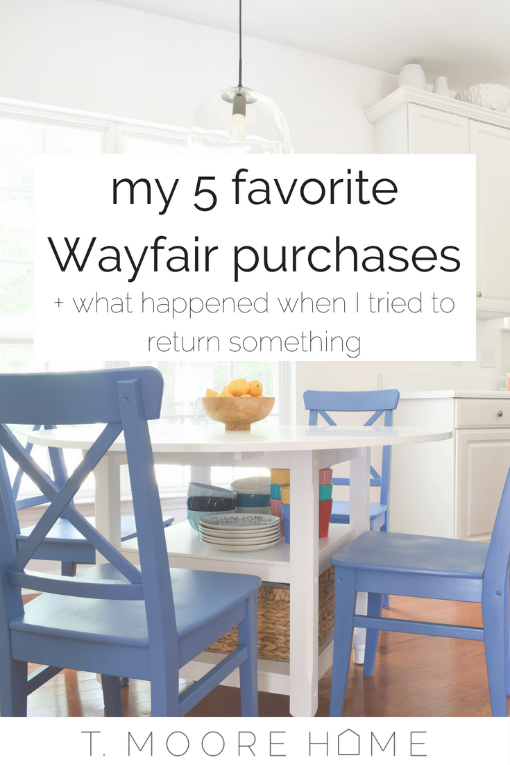 my experience with wayfair returns