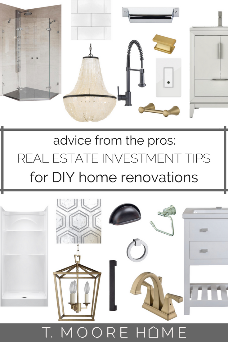 DIY Home Remodels That Grow Your Equity Portfolio + Land Your Dream Home | DIY renovation tutorials, budget home decorating, and staging / selling tips from Real Estate Investor and Interior Designer, Teri Moore.