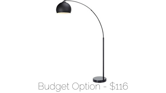 affordable arch floor lamp