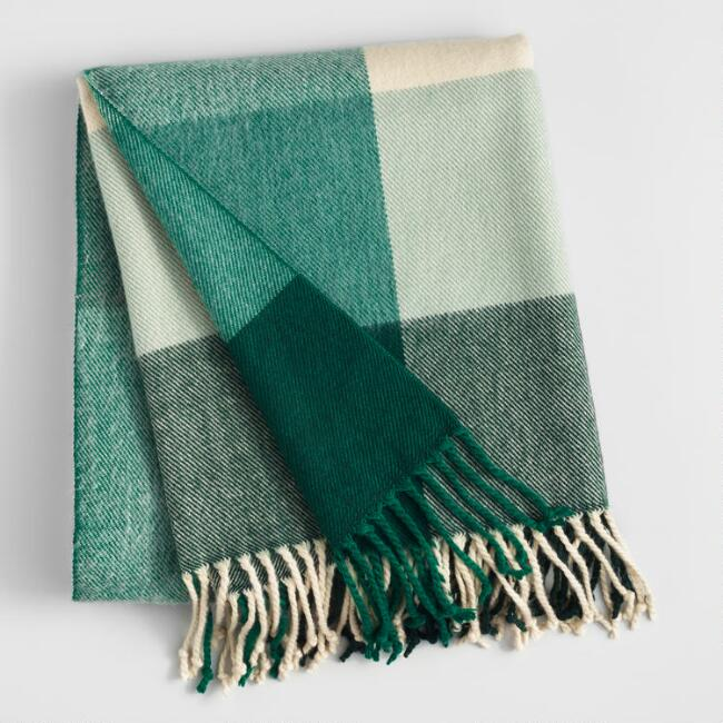 affordable wool throw
