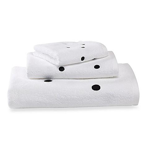 kate spade polka dot towels