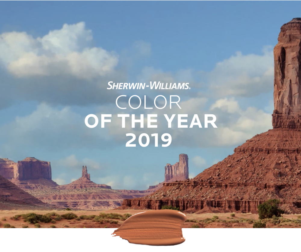sherwin williams color of the year 2019