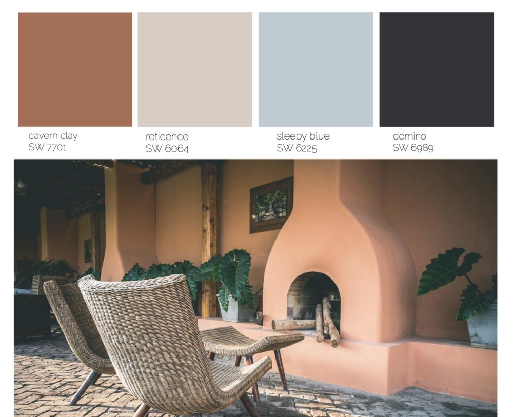 bohemian color palette