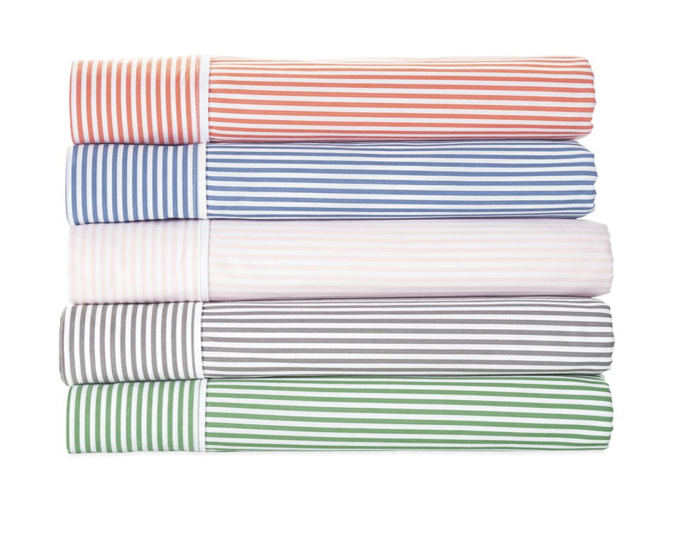 cheerful bedroom - perfect preppy sheets
