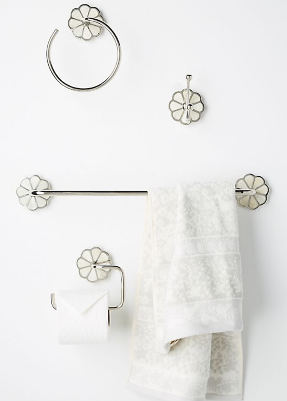 kids bathroom decor - loving this for the renovation of a kid's bathroom, cheeky yet still refined.