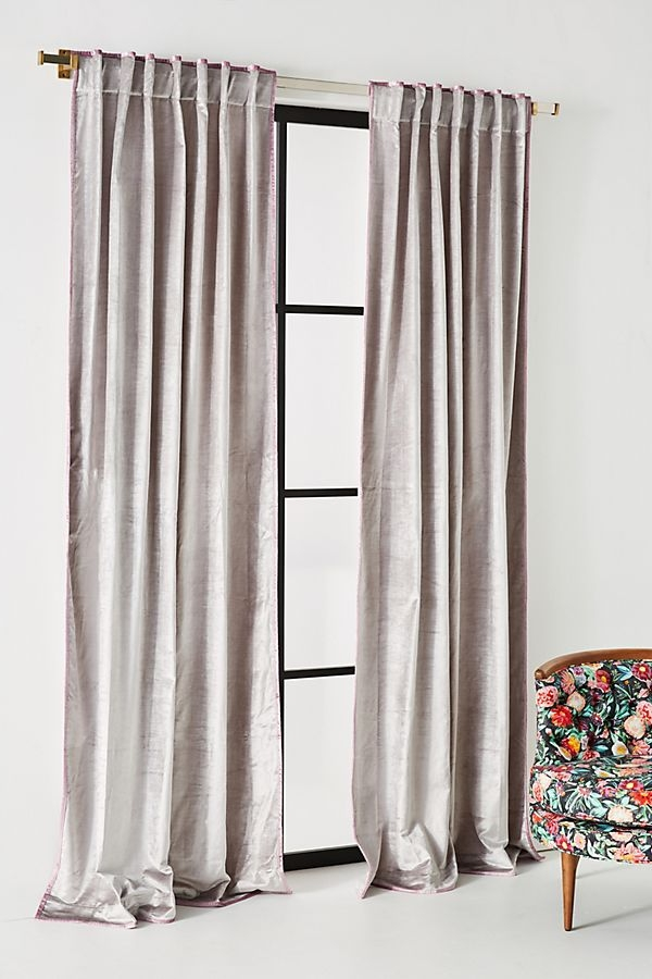 soft grey lavendar master bedroom accents