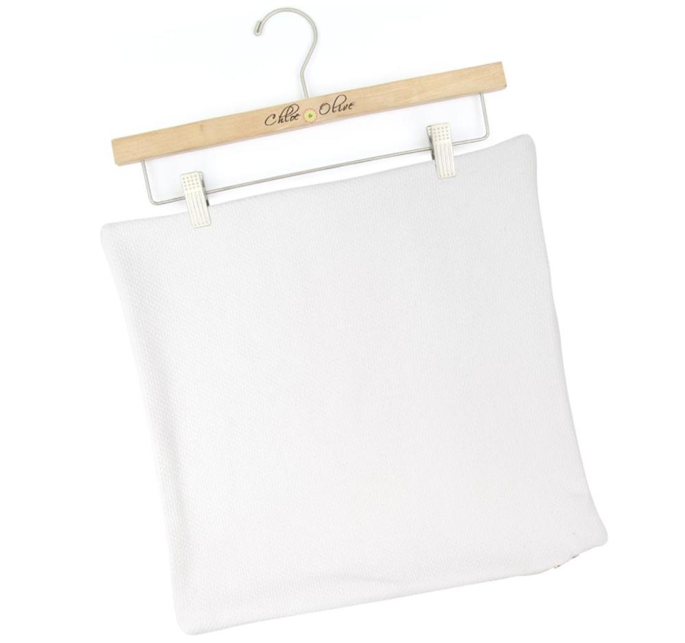 plain white throw pillow cover