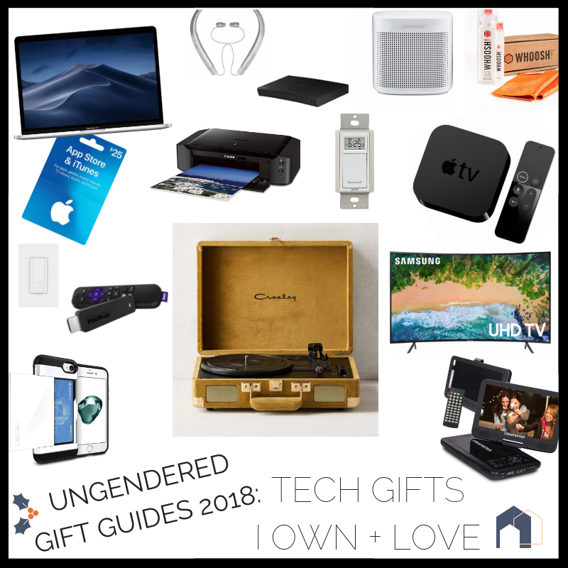 TECHIE GIFT GUIDES 2018