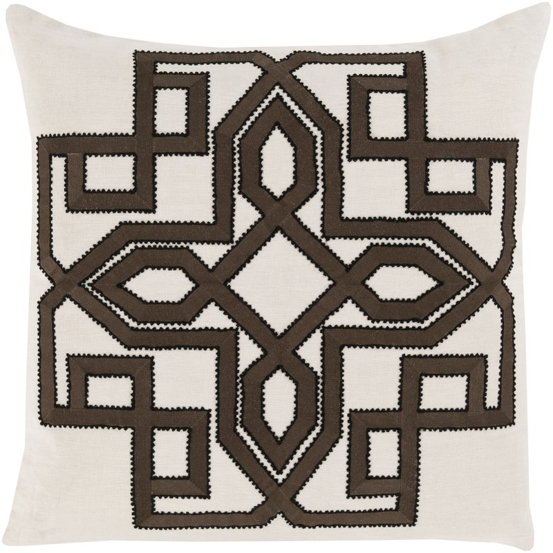 "People often mistakenly assume throw pillows are purely decorative objects but I disagree. Any object that touches your body should bring you comfort. I like to keep even my ""decorative"" textiles natural and soft. Double points if you can find something like this one - that adds visual interest too."