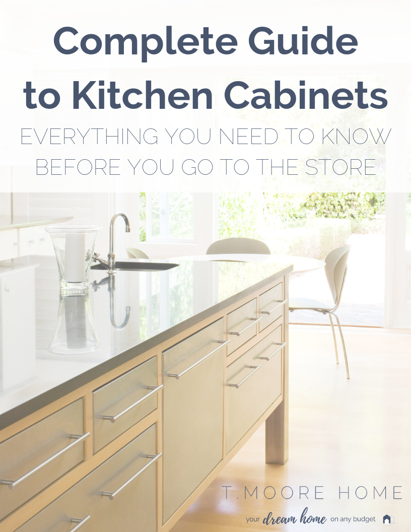 REMODELER'S CHECKLIST: KITCHEN RENOVATIONS PART ONE: Planning your kitchen renovation? Here's everything you need to know about buying kitchen cabinets. Including a checklist of the items you MUST consider before you even step foot into a showroom. #kitchens #kitchenremodels #diyrenovations #diyremodel