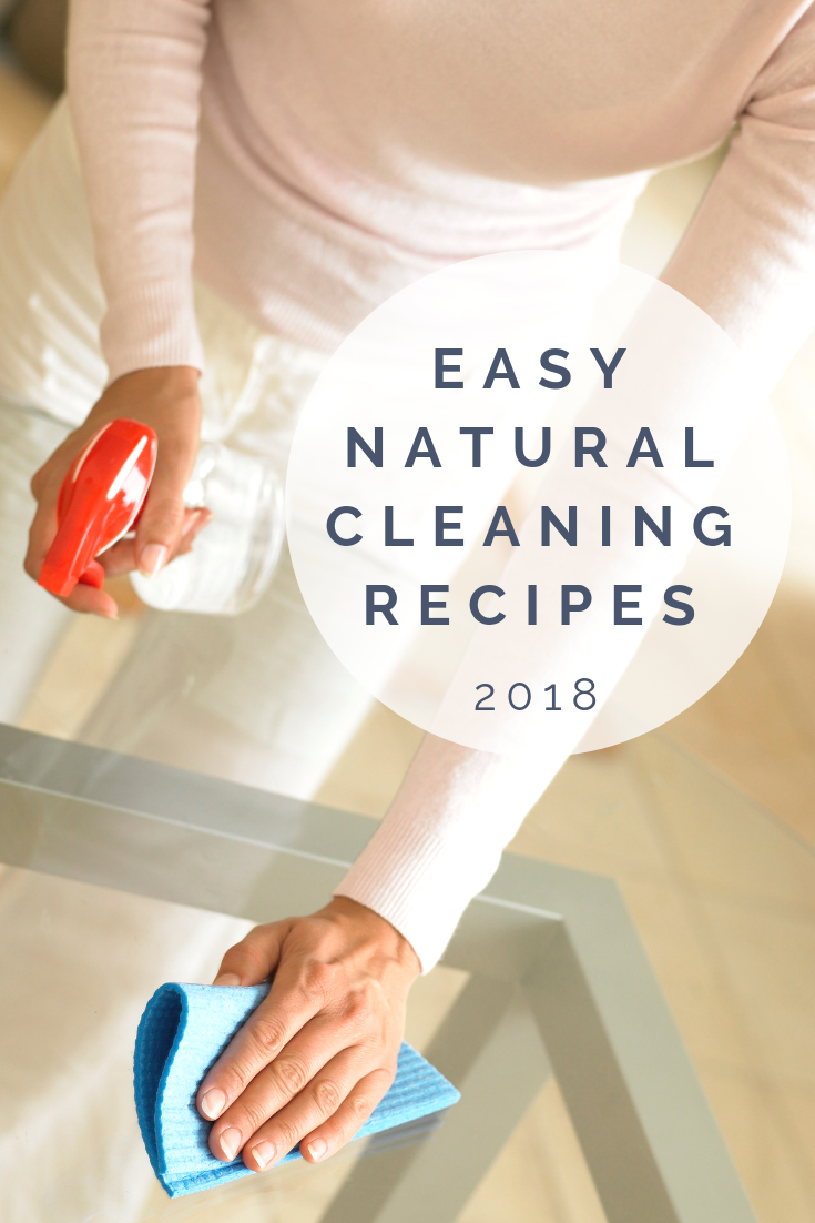 Natural Cleaning with essential oils | How I Clean My 3,000 square foot home with only 4 cheap grocery store ingredients | Natural Cleaning Recipes #diyhomecleaners