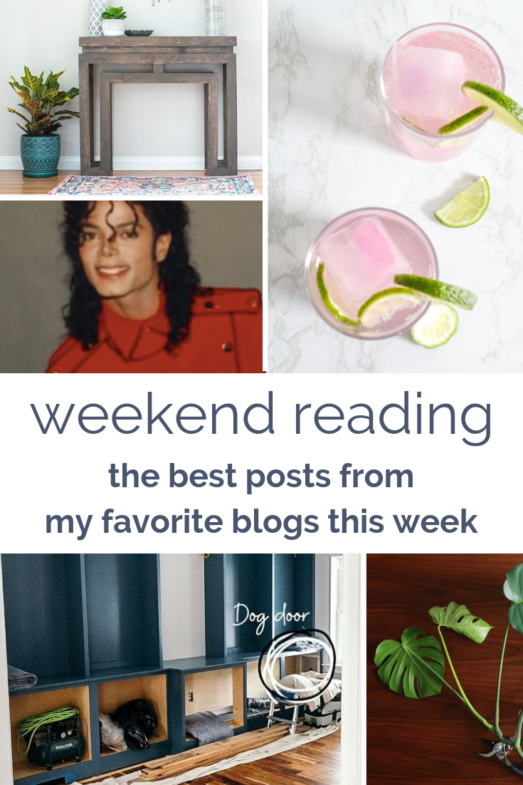 Weekend Reading Round-Up: Leaving Neverland, Plant Care Tips, Amazing Building Projects, and a Cocktail Recipe for Spring #favoriteblogs #readinglists
