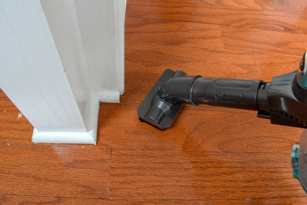 deep cleaning hardwood flooring without harming the wood