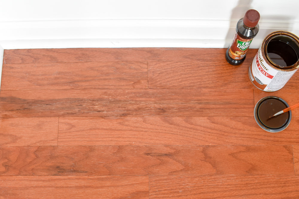 repairing wood flooring after condensation damage from  house plants