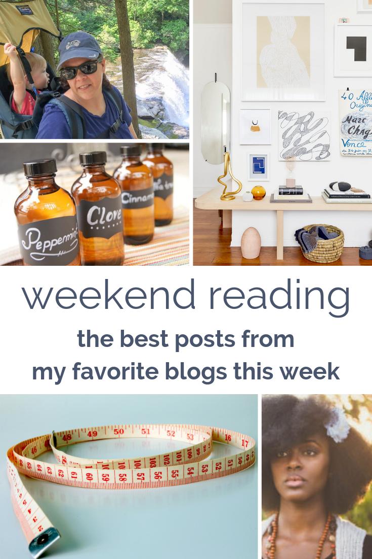 weekend reading round-up: my favorite blogs this week