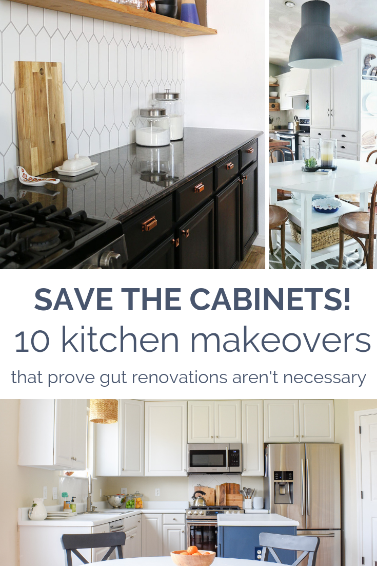 10 Kitchen Cabinet Transformations That Prove An Expensive Kitchen Renovation Isn't Always Necessary
