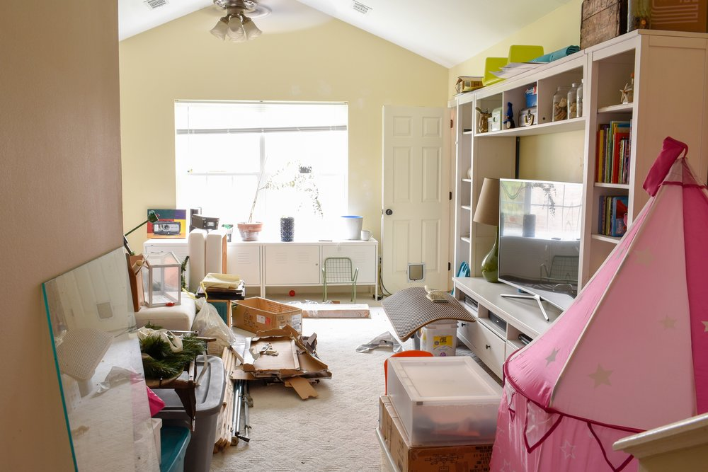 bonus room makeover: creating a media room for the whole family