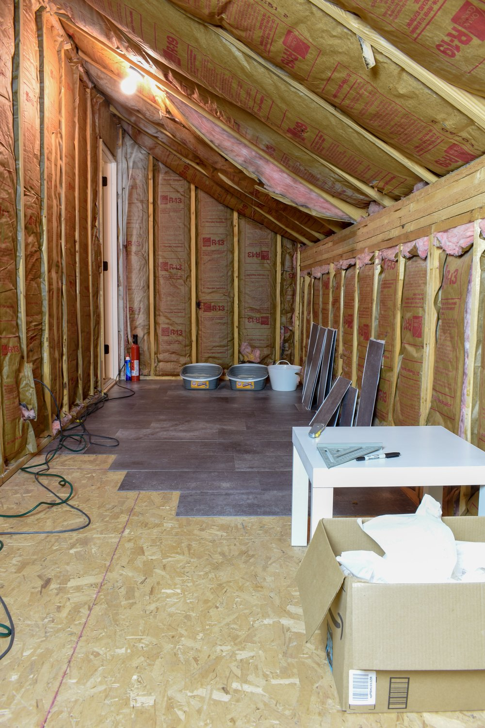 Easy Tile Installation For Finishing An Unfinished Space