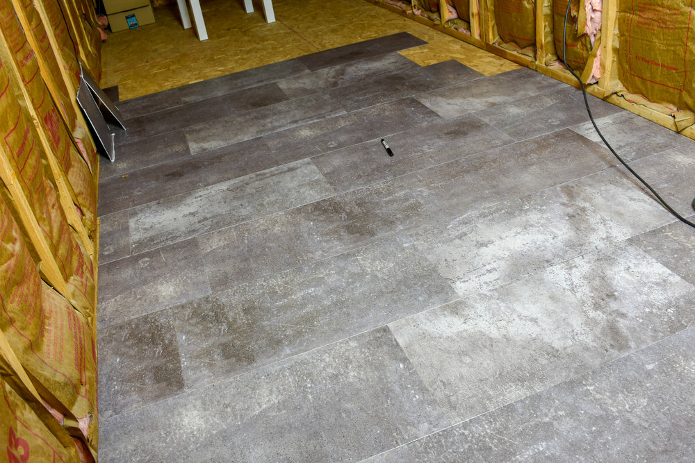 Easy Flooring Installation For Finishing An Unfinished Space