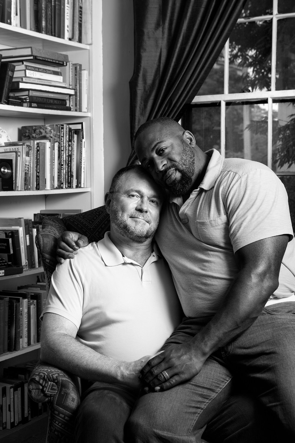 Ron and Marc, Together 11 Years. B. Proud. All rights reserved.