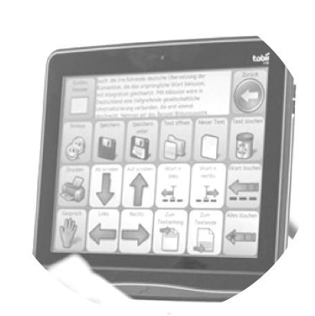 OOGSTURING - Het kleuter-, basis- en secundair onderwijs van hetDominiek Savio Instituut geeft gespecialiseerd onderwijs aan kinderen met een neuromotorische beperking.Het fonds kocht een digitale oogsturingsmodule aan, die gebruikt kan worden als communicatietechnologie door kinderen met eenernstige fysieke beperking. Het display traceert de oogbewegingen van de gebruiker, waardoor het kind via de ogen de cursor op het scherm kan laten bewegen. Op die manier kunnen de kinderen communiceren door iconen aan te duiden, maar ook oefeningen maken, of educatieve spelletjes spelen.Zo is hun fysieke beperking geen belemmeringvoor de mentale evolutie!-MULTIDISCIPLINAIR & MULTILEVELDOMINIEK SAVIO INSTITUUT