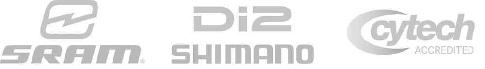 Sram eTap, Shimano DI2, Cytech accredited.