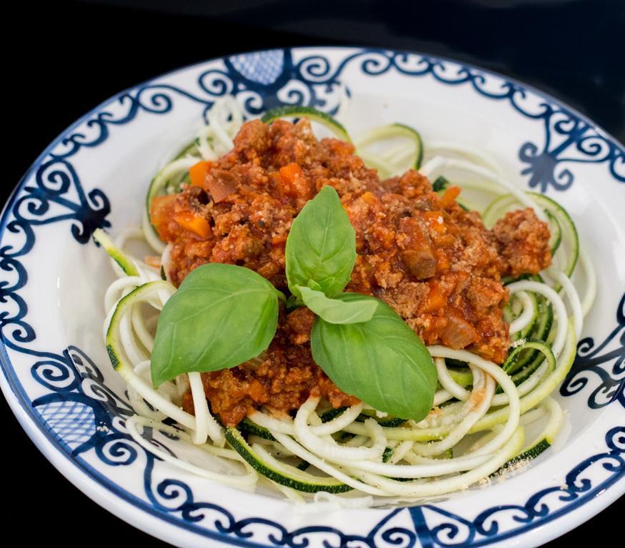 Bolognese vegan med zucchinipasta IMG_4347