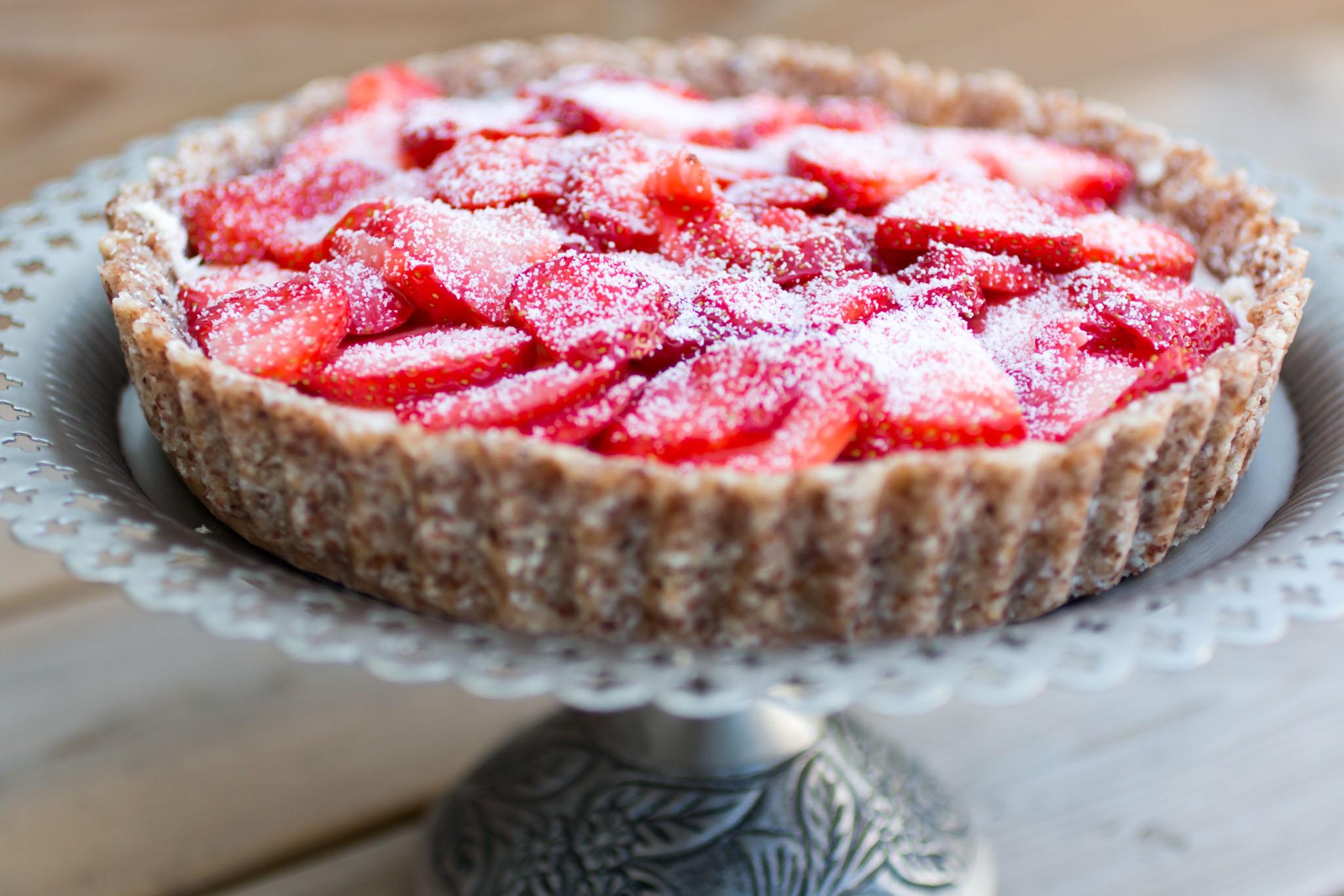 IMG_3574 Sommar tårta - Limekräm & jordgubbar