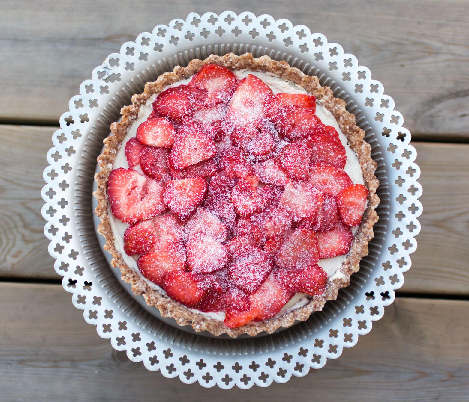 IMG_3577 Sommar tårta - Limekräm & jordgubbar