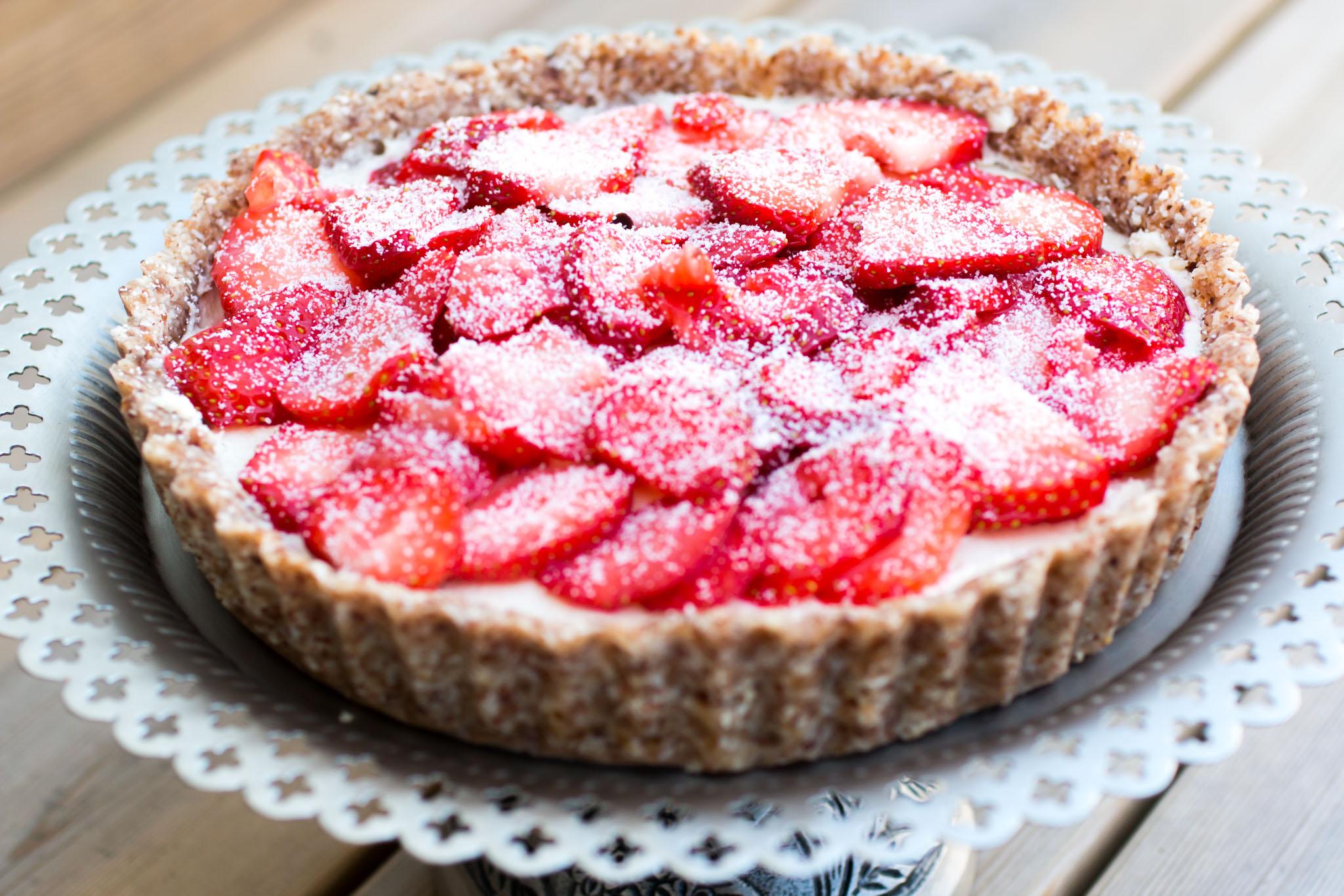 IMG_3583_1 Sommar tårta - Limekräm & jordgubbar